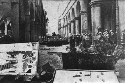 barricate in piazza verdi